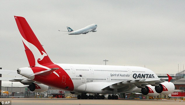 Investigation: Qantas announced it had suspended its current sourcing arrangements pending an investigation