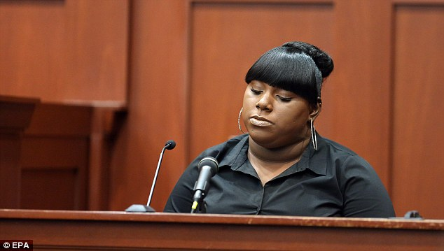 Girlfriend: The government's star witness in the George Zimmerman prosecution is 19-year-old Miami woman Rachel Jeantel
