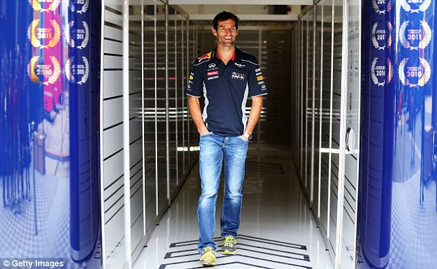 Aussie rules: The veteran only informed Christian Horner of his decision just before the official announcement