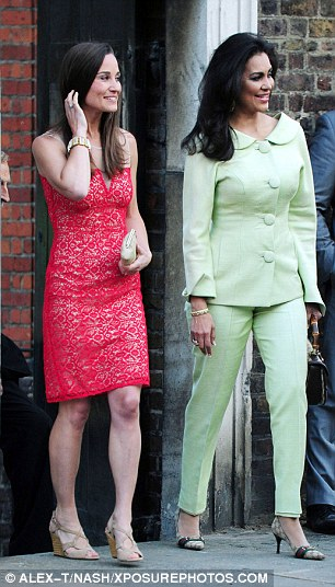 David Frost said Pippa was invited because the pair met before the royal wedding and she has been for dinner