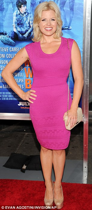 Lovely ladies: Actresses Devon Werden and Megan Hilty were at the AMC Loews Lincoln Square on Wednesday