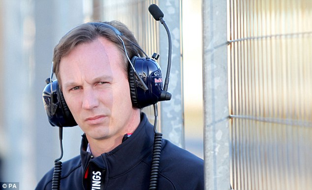 Frustration: Webber's sudden announcement has riled Red Bull team principal Christian Horner