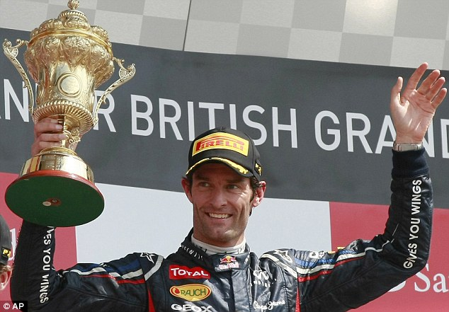 Up for the cup: The Australian driver has won nine grands prix with Red Bull