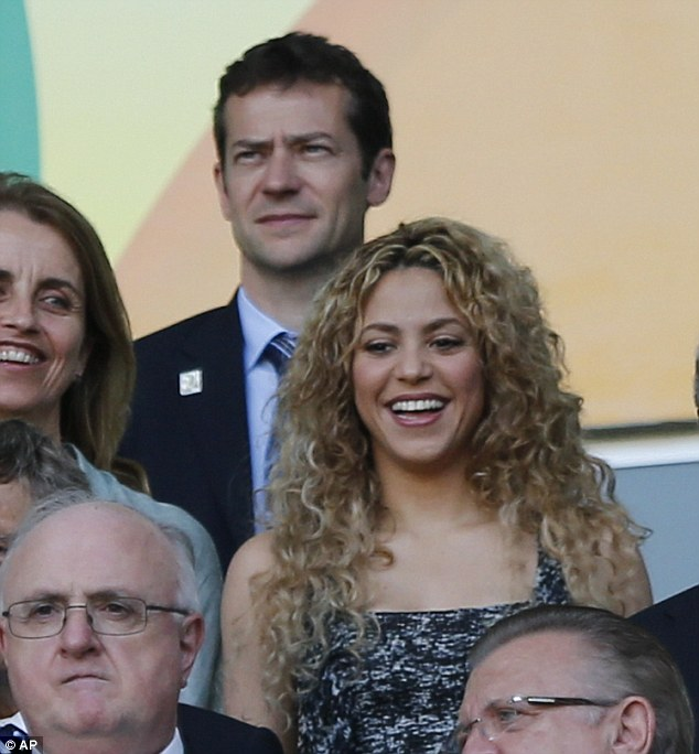 Support: The singer's husband, Gerard Pique, is a starting player for both FC Barcelona and the Spanish National team