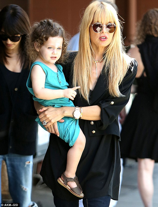 Staying mum: Rachel Zoe has not commented on reports that she is pregnant with her second child