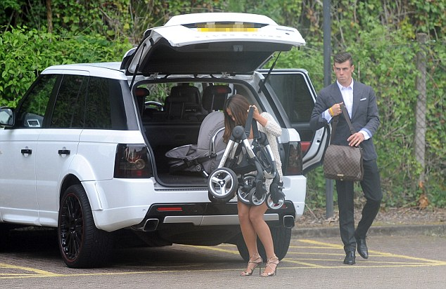 Packing up? Gareth Bale may be persuaded to leave Tottenham this summer for Real Madrid