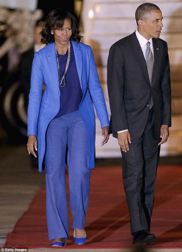 The President Barack Obama and first lady Michelle Obama are in South Africa as the second leg of their three country tour of Africa and arrived from Senegal