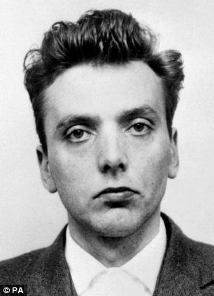 Ian Brady pictured in a police mugshot after the pair's capture