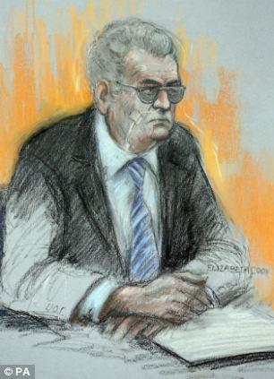 Killer: Moors murderer Ian Brady has lost his £250,000 legal bid to be transferred to a jail