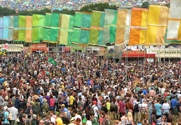 Bit busy! Thousands flooded through the gates to check out the music on Friday, which saw the likes of Rita Ora and Professor Green take to the stage