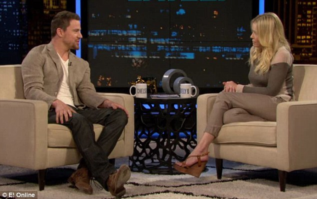 Broke down! Channing revealed: 'I probably went to the bathroom four times and had a crying fit'