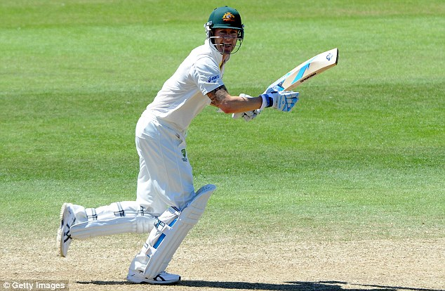 Australia's captain Michael Clarke