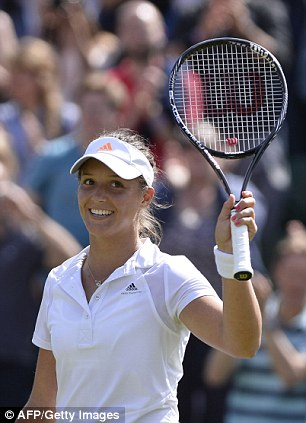 Tipped for the top: Laura Robson