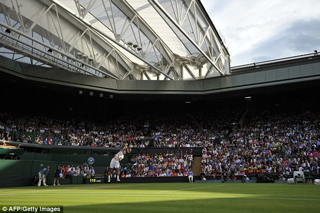 Out of his depth: Frenchman Chardy was completely outclassed on his was to a straight sets drubbing
