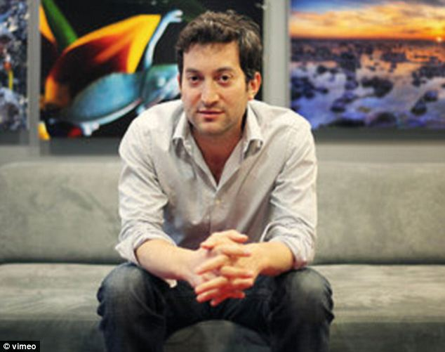 Cashing in: Jonathan Oringer, the founder of Shutterstock, became a billionaire on Friday