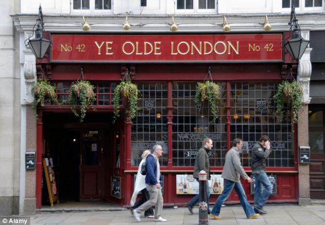 McNally punched the victim in the head and grabbed her by the hair, pulling her out of the kitchen in the Ye Olde London pub in Ludgate Hill
