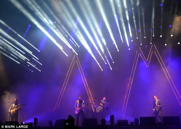 Headliners: Arctic Monkeys graced the Pyramid Stage as a Friday favourite