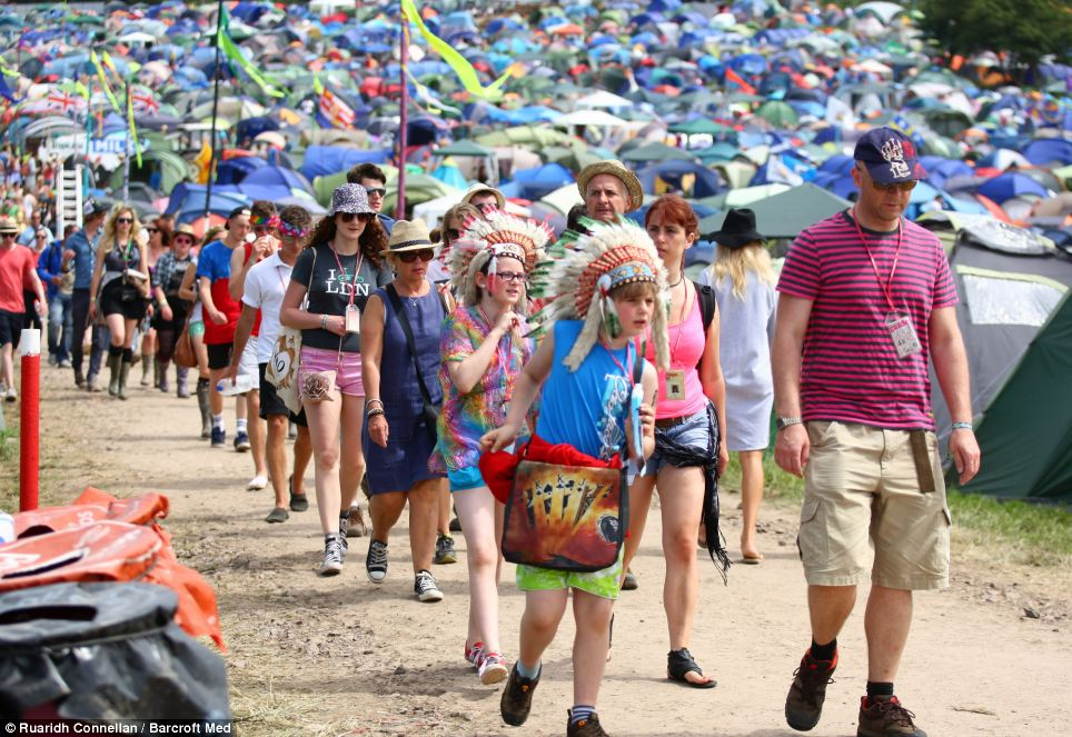The festival is popular with families and people of all ages