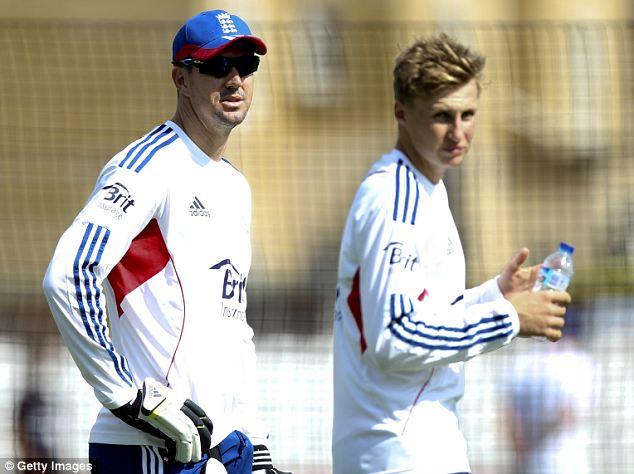 Key men: Kevin Pietersen (left) and Joe Root