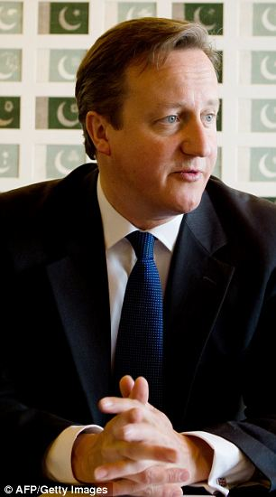 David Cameron in Islamabad: He is set to make the tax breaks for married couples the centrepiece of his speech to the Tory conference in October