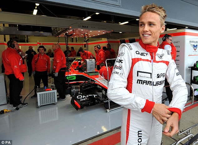Home comforts: Marussia count rookie British driver Max Chilton among their ranks