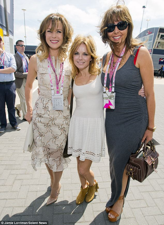 Ladies who race: Amanda, Geri and Carol posed up for a picture together