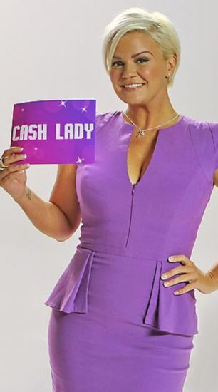 Warning: Cash Lady ads featuring former pop star Kerry Katona were singled out by regulators for being irresponsible