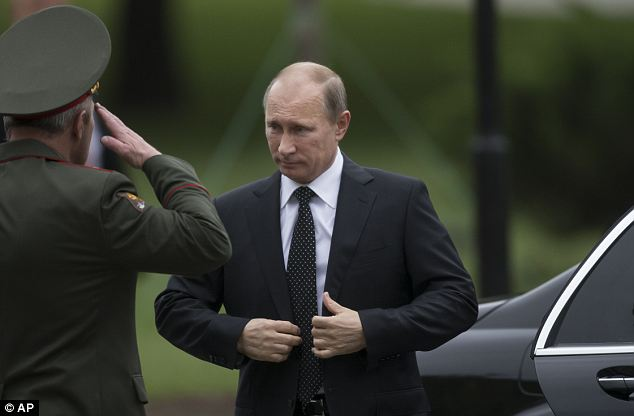 No refuge: A spokesman for President Vladimir Putin suggested Snowden would not find refuge in Moscow, adding: '[Snowden] is not a topic on the agenda of the Kremlin'