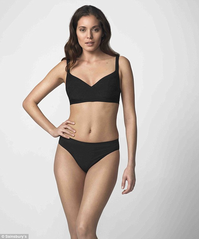 UK's first: TU at Sainsbury's have unveiled the UK's first seam-free padded bra and while it is practical, it isn't exactly sexy