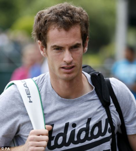 Murray is second favourite to take the title behind world number one Novak Djokovic
