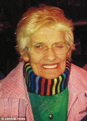 Loving: Mrs Farrar's family described her as 'the kindest and most gentle person we ever knew'