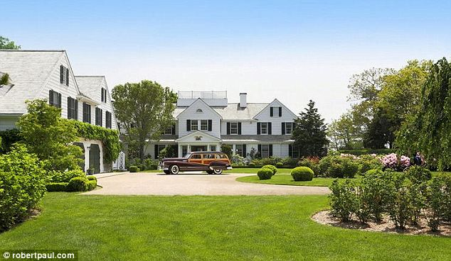 'Classic Cape Cod': The realtor stresses that the nine bedroom home does not have a typical 'big mansion' feel