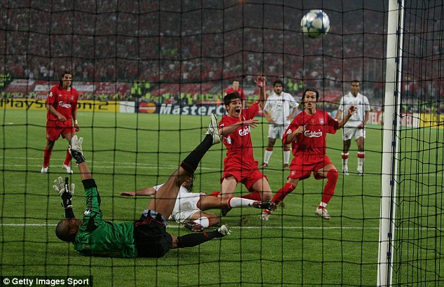 Response: Liverpool came from 3-0 down to beat AC Milan and win the Champions League in 2005