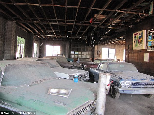 Garage: The cars were placed in storage in Pierre, Nebraska, - the home of the Lembrecht Chevy dealership since 1946