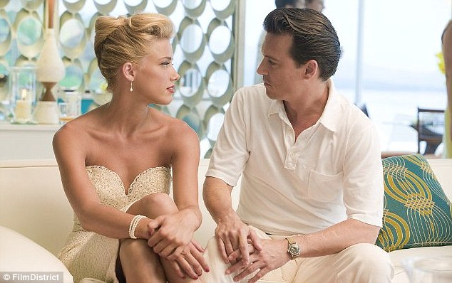 How they met: Amber and Johnny on the set of The Rum Diaries