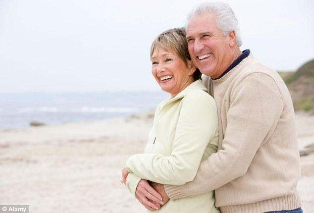 Bliss: Couples who have been married for longer  prefer to focus on more positive experiences rather than reheat old disputes