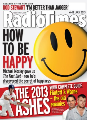 Interviewed in the Radio Times