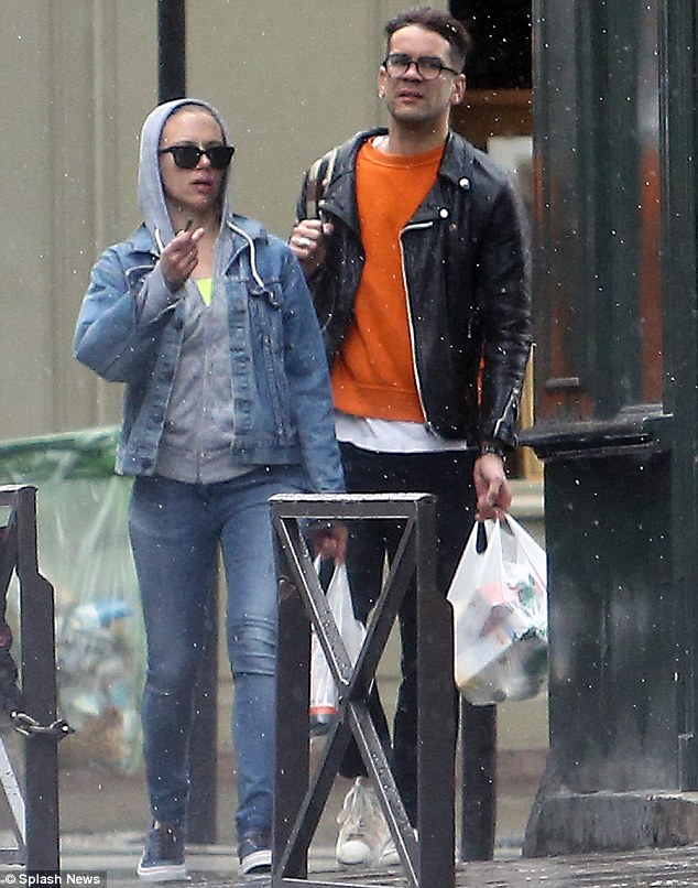 Glamour couple: The pair were the height of French elegance as they traipsed through gay Paree last week