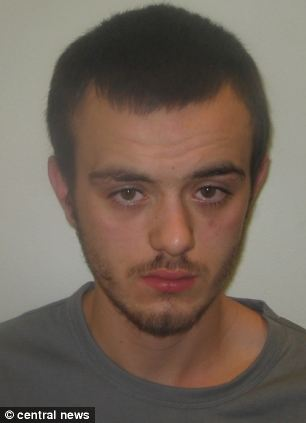 Murderer: Daniel Barnett was called an 'aggressive, bad-tempered, cowardly young man' by the judge