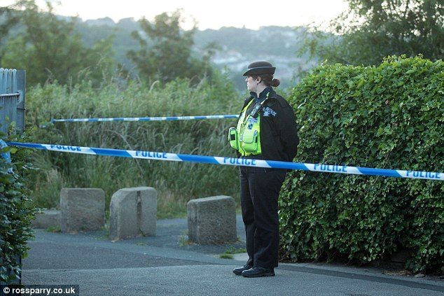 Investigation: Police arrested a 26-year-old man on suspicion of murder and attempted murder yesterday