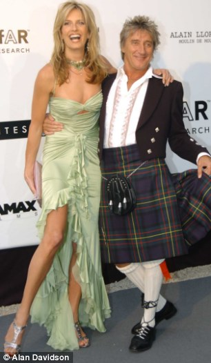 Rod and Penny at the 2004 Cannes film festival