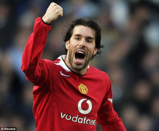 Manchester United's Ruud Van Nistelrooy