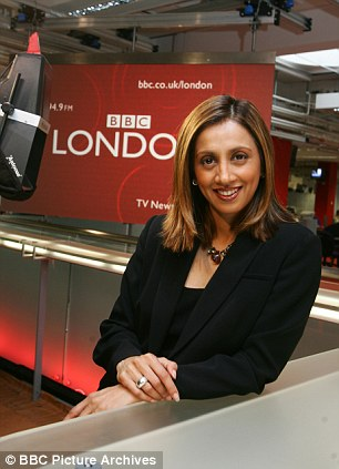 Riz Lateef Tweeted her support to colleague Wendy Hurrell - insisting she was frustrated with technical problems
