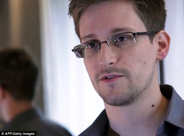 France and Portugal refused to let then aircraft cross their airspace because of suspicions that NSA leaker Snowden (pictured) was on board, the country's foreign minister said