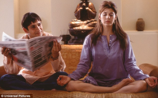 In the news: Mistry in one of his many film roles, here opposite Marisa Tomei in The Guru