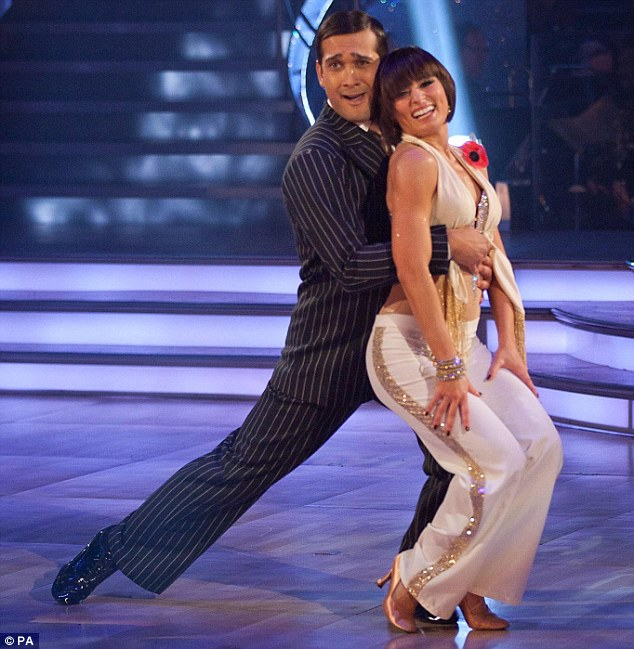 Happier than ever: Jimi is now engaged to his former Strictly Come Dancing partner Flavia Cacace
