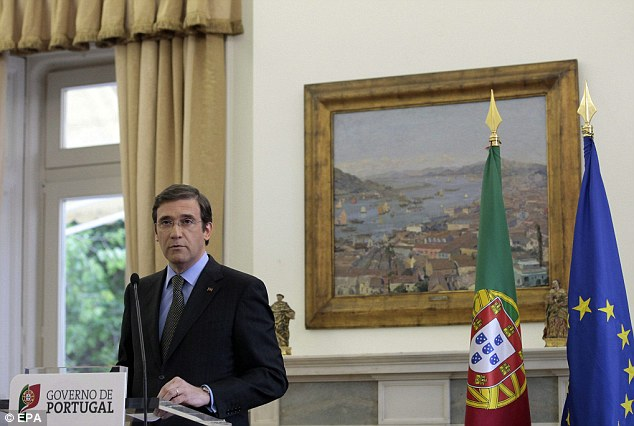Euro crisis: Fears over the future of Portugal's coalition government have also spooked investors, say experts