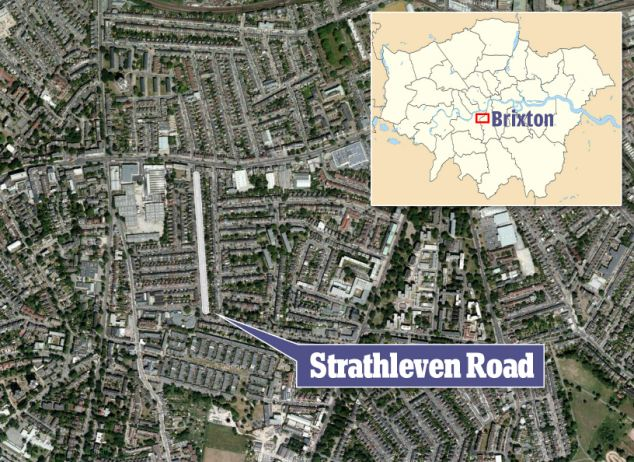 Brixton, south London: Where the incident happened