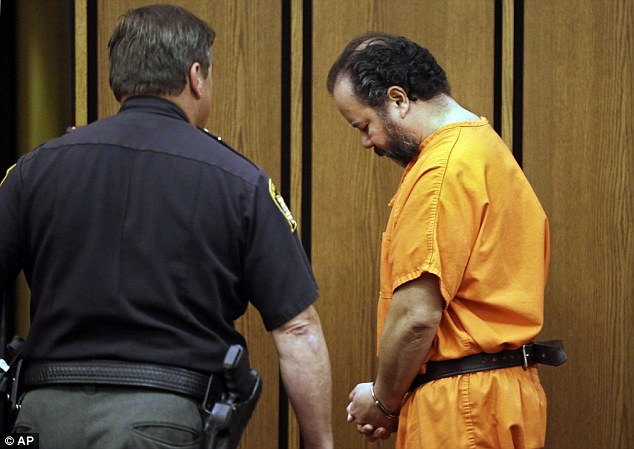 Lock-down: Castro is led back to his cell on July 3 where he is being held on $8million bail