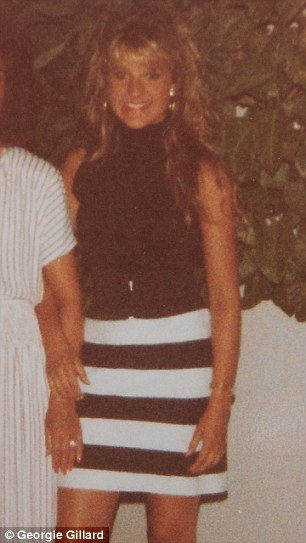 Aged 15, at a party